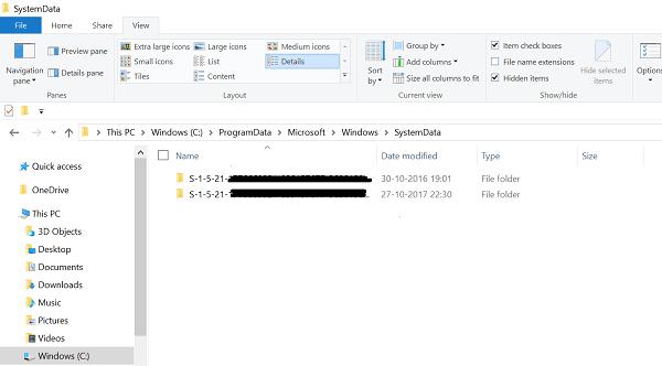 Cómo quitar el historial de imágenes de la pantalla de bloqueo de Windows 10 2
