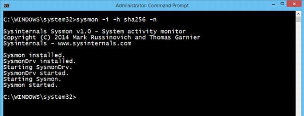 Sysinternals Sysmon para Windows: Monitorear el estado del sistema Windows