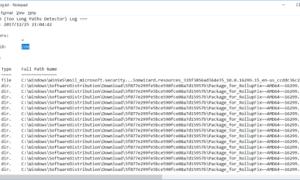 TLPD es un buscador de rutas de archivo largas para detectar archivos con rutas largas en Windows