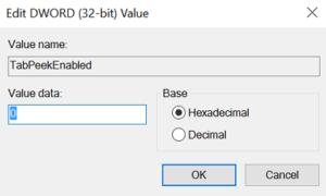 Cómo desactivar la función de vista previa de pestañas del navegador Edge