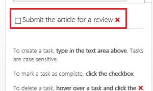 Aplicación TaskIt para Word: Lleve un registro de su trabajo pendiente
