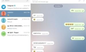 Telegrama es una aplicación de mensajería multiplataforma para enviar mensajes cifrados y autodestructivos.