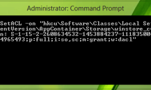 Error en la llamada de procedimiento remoto Error en las aplicaciones de Windows Store