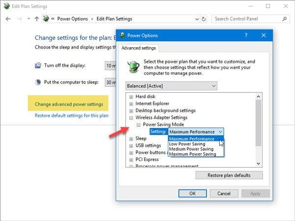 La puerta de enlace predeterminada no está disponible en Windows 10