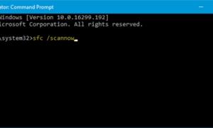 La excepción de excepción desconocida de software ocurrió en la aplicación