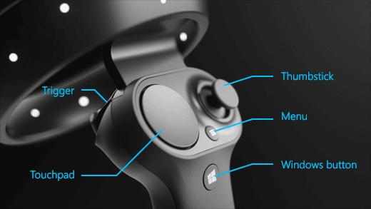 Cómo configurar los controladores de movimiento para Windows Mixed Reality 3