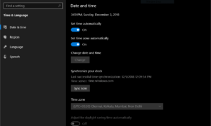 Error 0x80d06802 para Windows Update o Microsoft Store en Windows 10