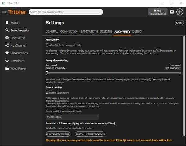 Descargue Torrents con Tribler sin tener que visitar nunca un sitio web