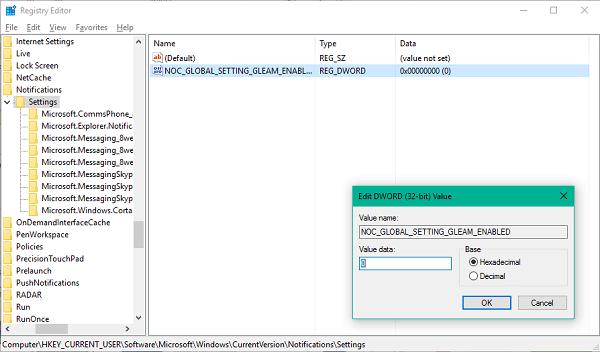 Cómo mostrar u ocultar iconos de aplicaciones en el icono del Centro de actividades de Windows 10