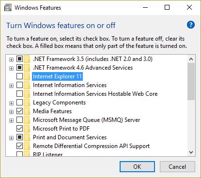 Corrección: Fallo de Internet Explorer debido a iertutil.dll en Windows 10/8/7