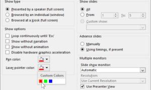 Convierta su ratón en un puntero láser en PowerPoint