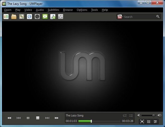 UMPlayer: Un reproductor multimedia rápido y gratuito con soporte para grandes formatos multimedia 1