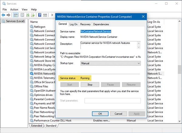 Corrección de un error de Incapaz de conectarse a NVIDIA en Windows 10/8/7