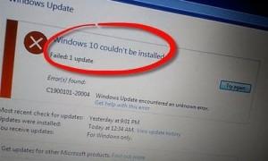 No se puede actualizar a Windows 10 desde Windows 8.1/7