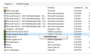 Cómo reiniciar el controlador de gráficos en Windows 10