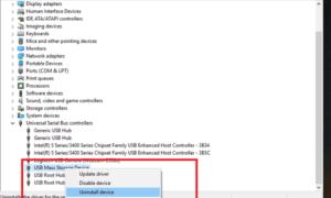 USB sigue desconectándose y volviendo a conectarse en Windows 10