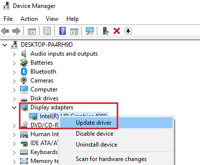 Adquisición de imágenes de Windows Alto uso de CPU y disco
