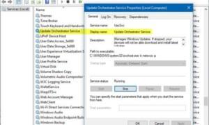 ¿Qué es Update Orchestrator Service en Windows 10?