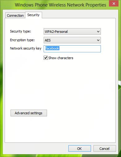Cómo actualizar la Clave de seguridad para redes WiFi en Windows 8/10 4