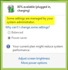 Especificar un plan de energía activa personalizado y forzar a Windows a usarlo 1