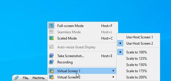 Cómo utilizar Dual Monitor con la máquina virtual VirtualBox