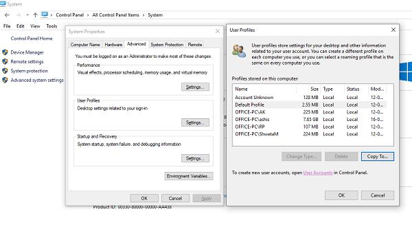 Cómo crear Perfiles de usuario obligatorios en Windows 10 1