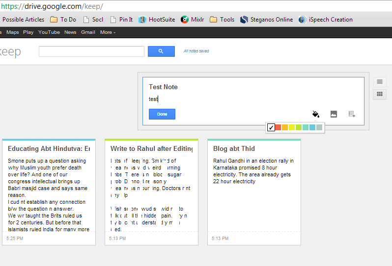 Google Keep - Una alternativa a Microsoft OneNote