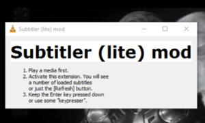 Cómo mostrar dos subtítulos simultáneamente en VLC en Windows 10