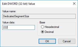 Cómo aumentar la RAM de vídeo dedicada en Windows 10