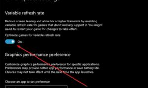 Cómo habilitar la tasa de actualización variable para juegos en Windows 10