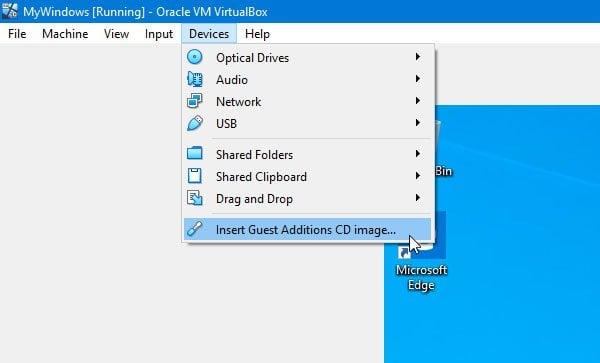 El modo sin fisuras de VirtualBox está en gris o no funciona. 2