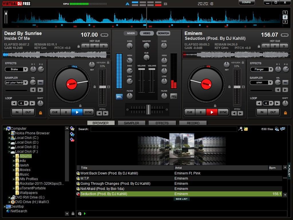 VirtualDJ: Un software gratuito para DJs virtuales para Windows PC
