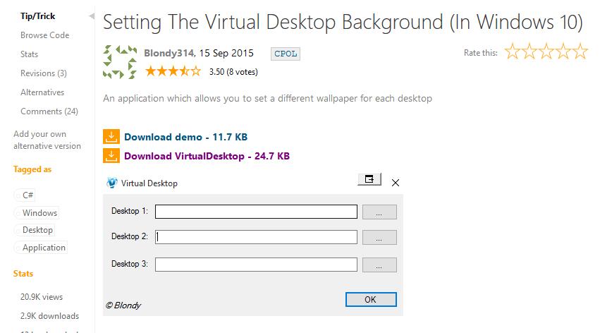 Consejos y trucos sobre el escritorio virtual para Windows 10