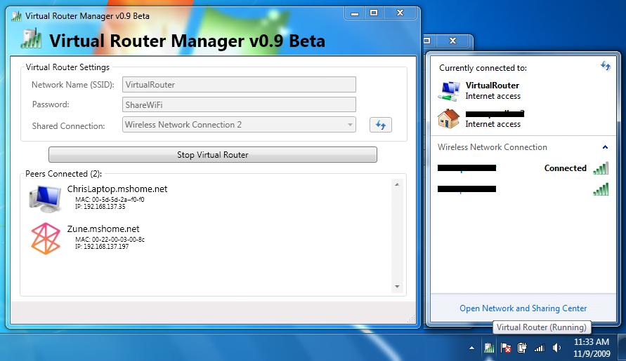 Administrador de enrutadores virtuales: Convierte tu PC con Windows en un Hotspot Wi-Fi