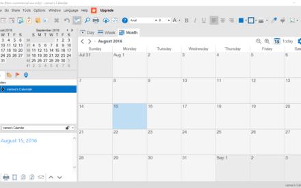 VueMinder Calendar Lite es un potente programa de calendario