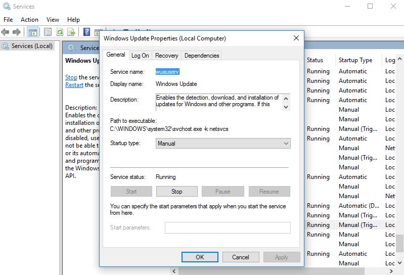 Windows Modules Installer Worker Alto uso de CPU y disco en Windows 10