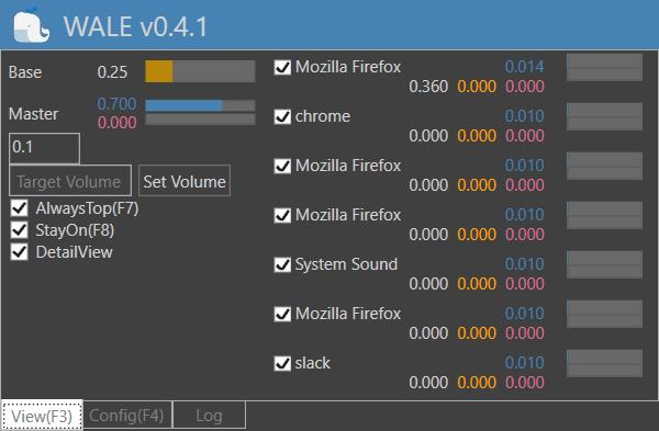 WALE: El ecualizador de sonoridad de audio de Windows controla los niveles de volumen para diferentes aplicaciones. 1