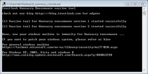 Herramientas gratuitas de vacunación y exploración de vulnerabilidades para WannaCry Ransomware
