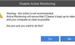 Cómo detener o desactivar la ventana emergente de alerta de CCleaner en Windows 10/8