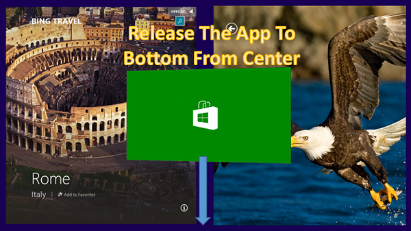 Cómo controlar o cambiar el tiempo de cierre de la aplicación en Windows 8.1 1