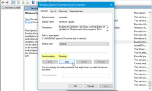No pudimos conectarnos al servicio de actualizaciones en Windows 10