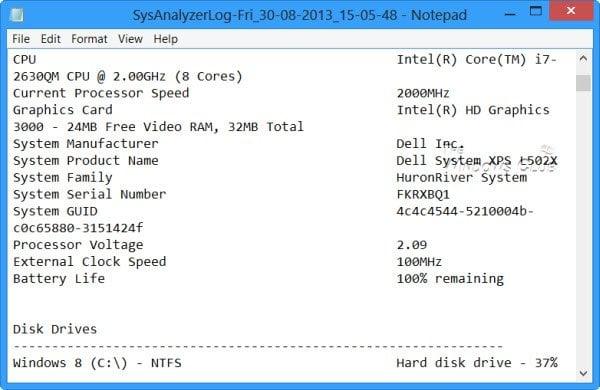 Analizador de sistemas Webroot: Detectar y analizar problemas de Windows