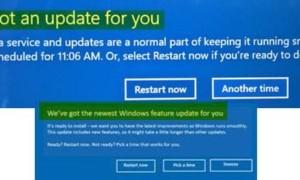 Tenemos una actualización para su mensaje en Windows 10
