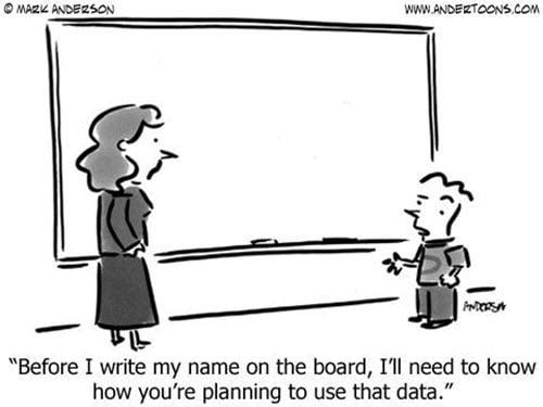 Por qué las empresas recopilan, venden, compran o almacenan datos personales
