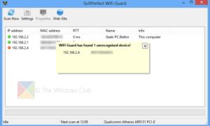 Guardia Wi-Fi: Proteja y proteja su red Wi-Fi de dispositivos desconocidos