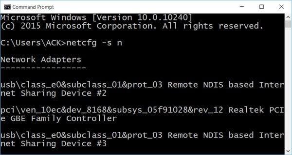 WiFi no funciona después de actualizar a Windows 10