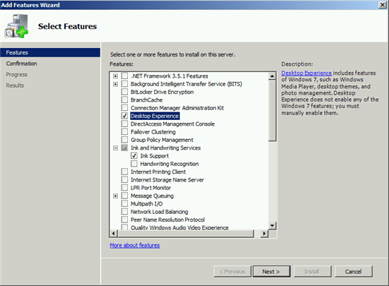 Limpieza de WinSxS Directory en Windows Server con una nueva actualización 1