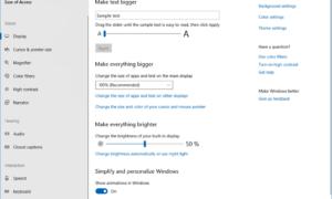 Cómo configurar un equipo con Windows 10 para personas mayores