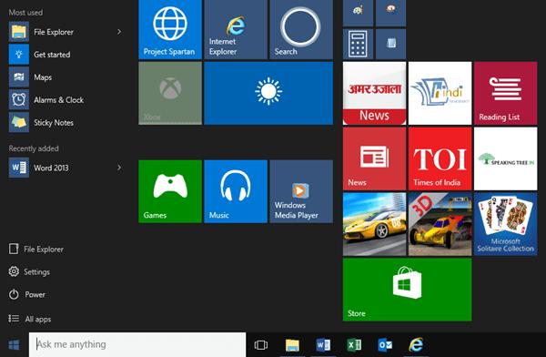 Microsoft Windows 10 descarga gratuita de la versión completa
