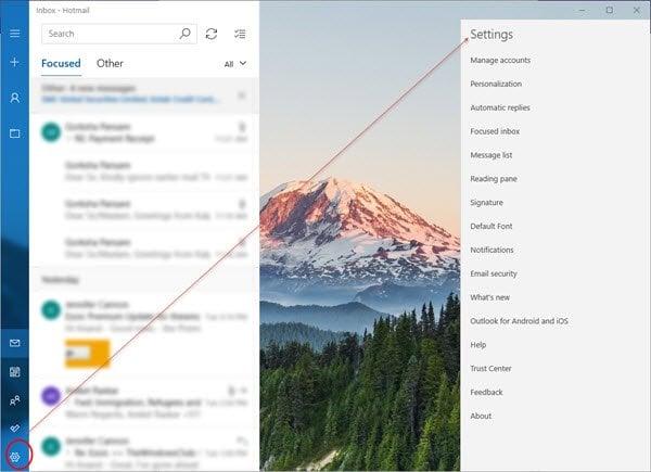 Consejos y trucos para Windows 10 Mail App